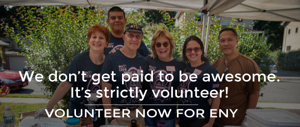 Volunteer now for ENY